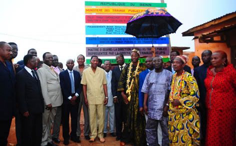 Yayi Boni Relance de l'griculture Beninoise