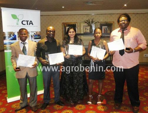 Les gagnants de la 1ère édition du concours Yobloco 2013 organisé par le CTA