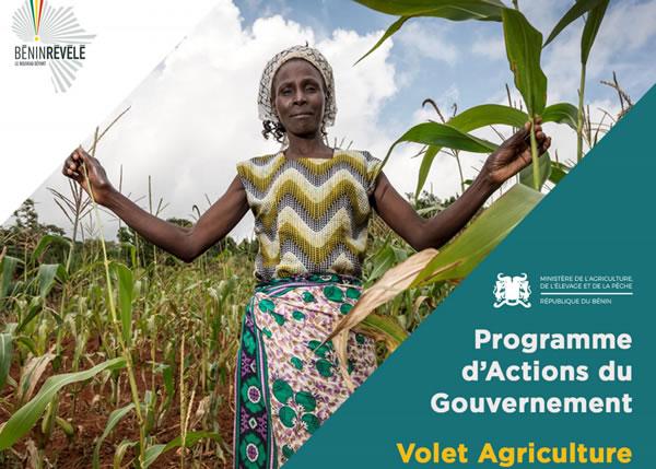 Volet agriculture du Programme d'Action du Gouvernement Béninois