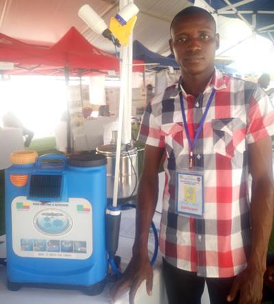 pulvérisateur solaire, pulvérisateur automatique, made in Benin