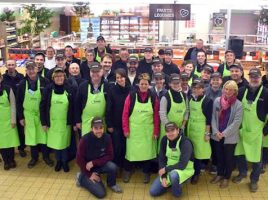 Paysans responsables de supermarché