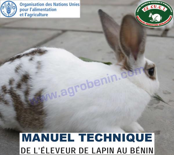 FAO-Bénin: Manuel Technique de l'Éleveur de Lapin au Bénin